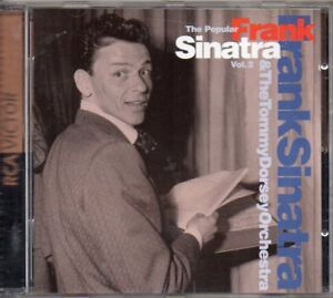 FRANK-SINATRA-amp-TOMMY-DORSEY-THE-POPULAR-VOL-2-CD-COME-NUOVO-RARO