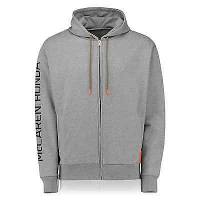 Official McLaren Honda F1 Team 2016 Essentials Full Zip Hoodie New