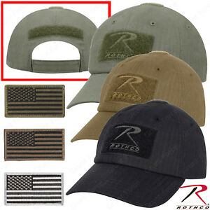 Rip Stop Operator Tactical Cap - Military Style Baseball Hat w  U.S. ... 096fe4bee70c