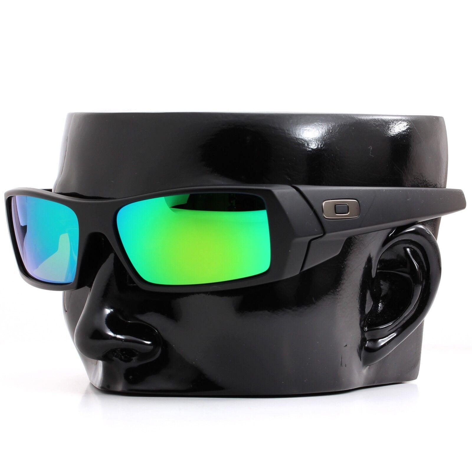 c366fe8486d Polarized IKON Iridium Replacement Lenses For Oakley Gascan Emerald Green  Mirror