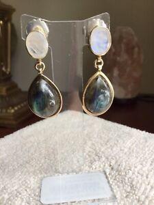Labradorite /& Sterling earrings