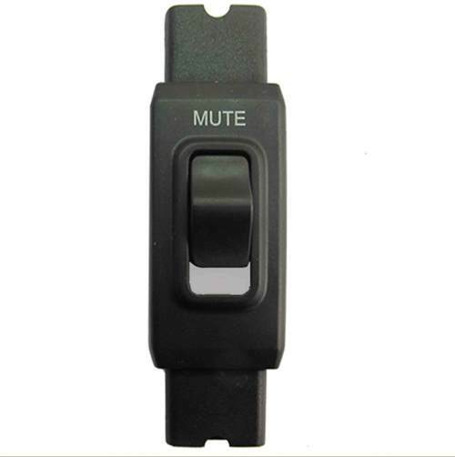 Xenexx In Line Locking Headset Mic Mute Switch for Plantronics fits between QD's