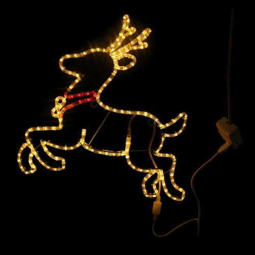 SUNNY Christmas Deer LED Lights Strip Party Festival Fairy Decor Indoor//Outdoor
