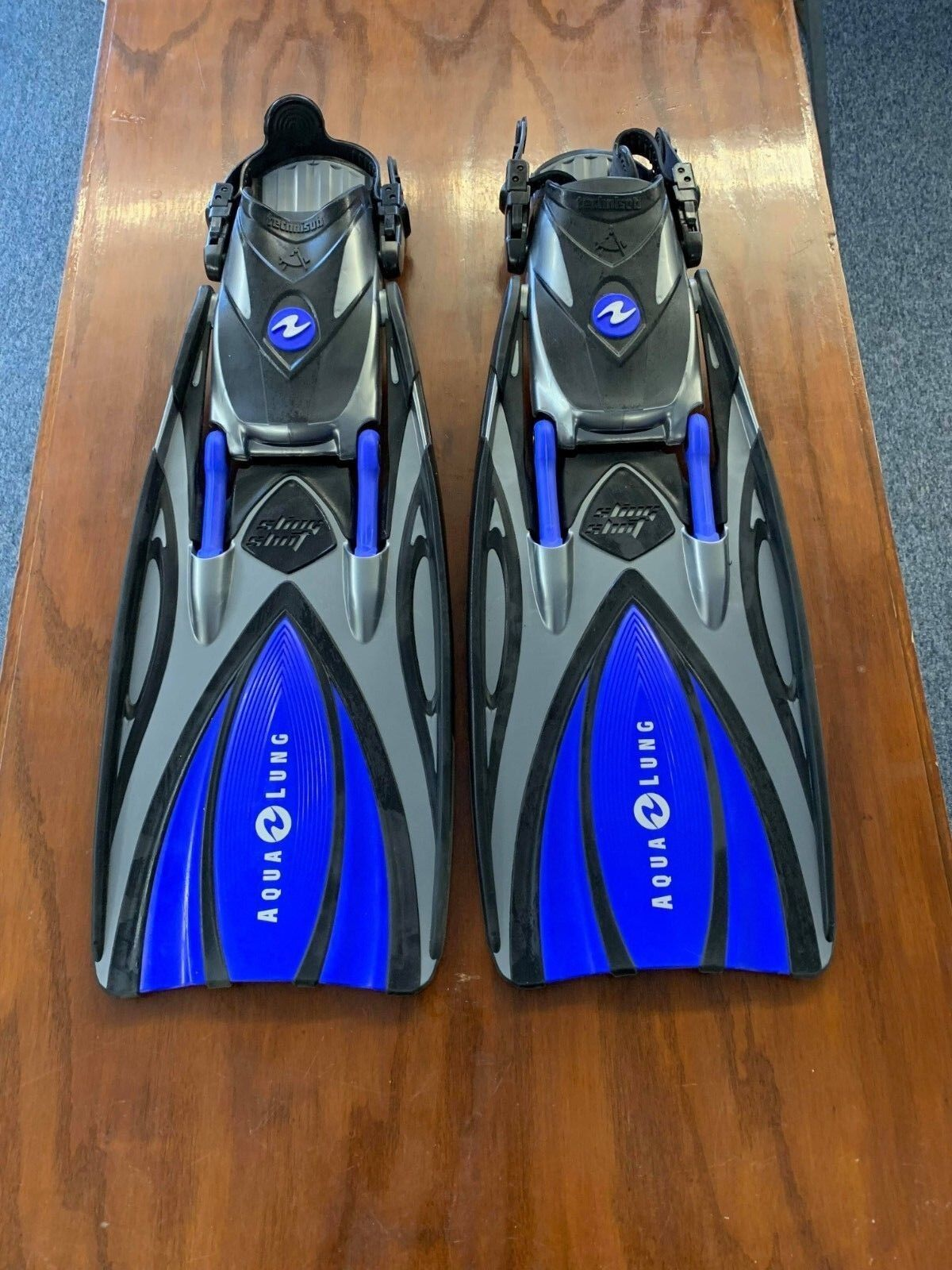 New blueee Aqualung Slingshot Fins Small