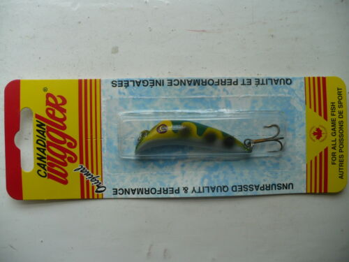 Canadian Wiggler hollow brass crankbait 4 sizes 13 colours 21g to 3.5g fish lure