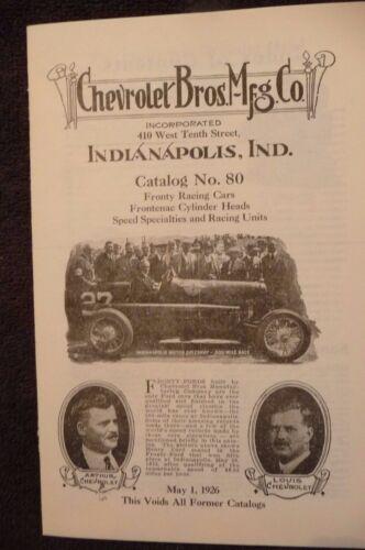 Vintage 1926 Chevrolet Motor Cars, Superior Model Series V Instruction Manual