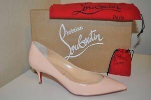 magasin d'usine 67e10 2a463 Details about Christian Louboutin PIGALLE FOLLIES Patent Poudre Low Heel  Pumps Shoes 36.5 - 6