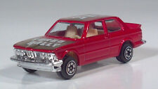 """Vintage Yatming 1029 BMW 320i Turbo Rally 3"""" Die Cast Scale Model Red"""