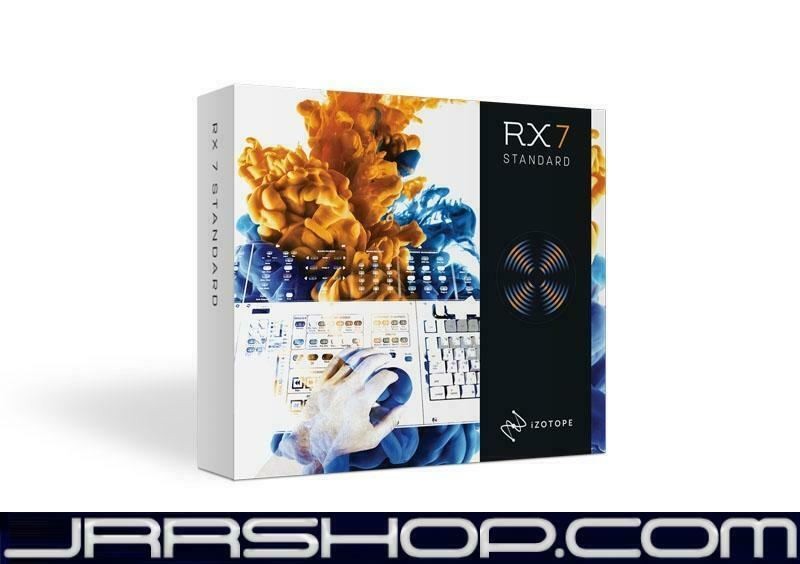 IZotope RX 7 Standard Upgrade from RX Elements eDelivery JRR Shop