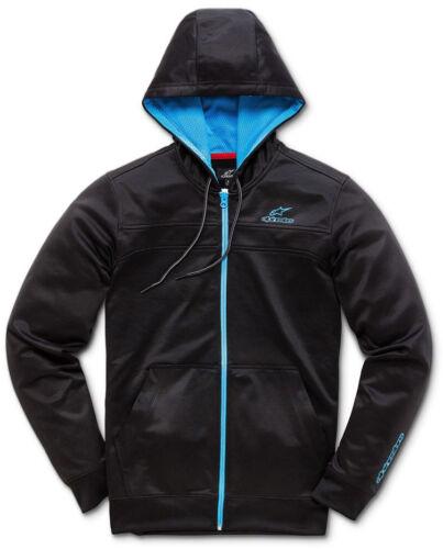 Alpinestars Freeride Zipped Hoody in Black//Blue