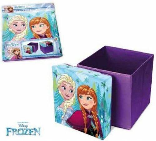 Disney Frozen Die Eiskönigin Anna und Elsa Hocker Sitzhocker Aufbewahrungsbox