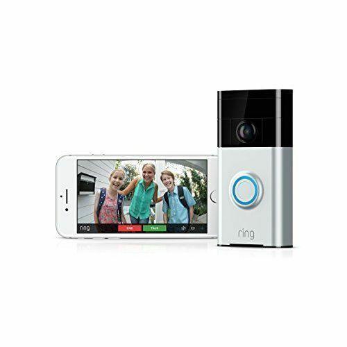 New Ring Video Doorbell Wireless Wifi Built-in Speaker 2-Way Talk RRP .99