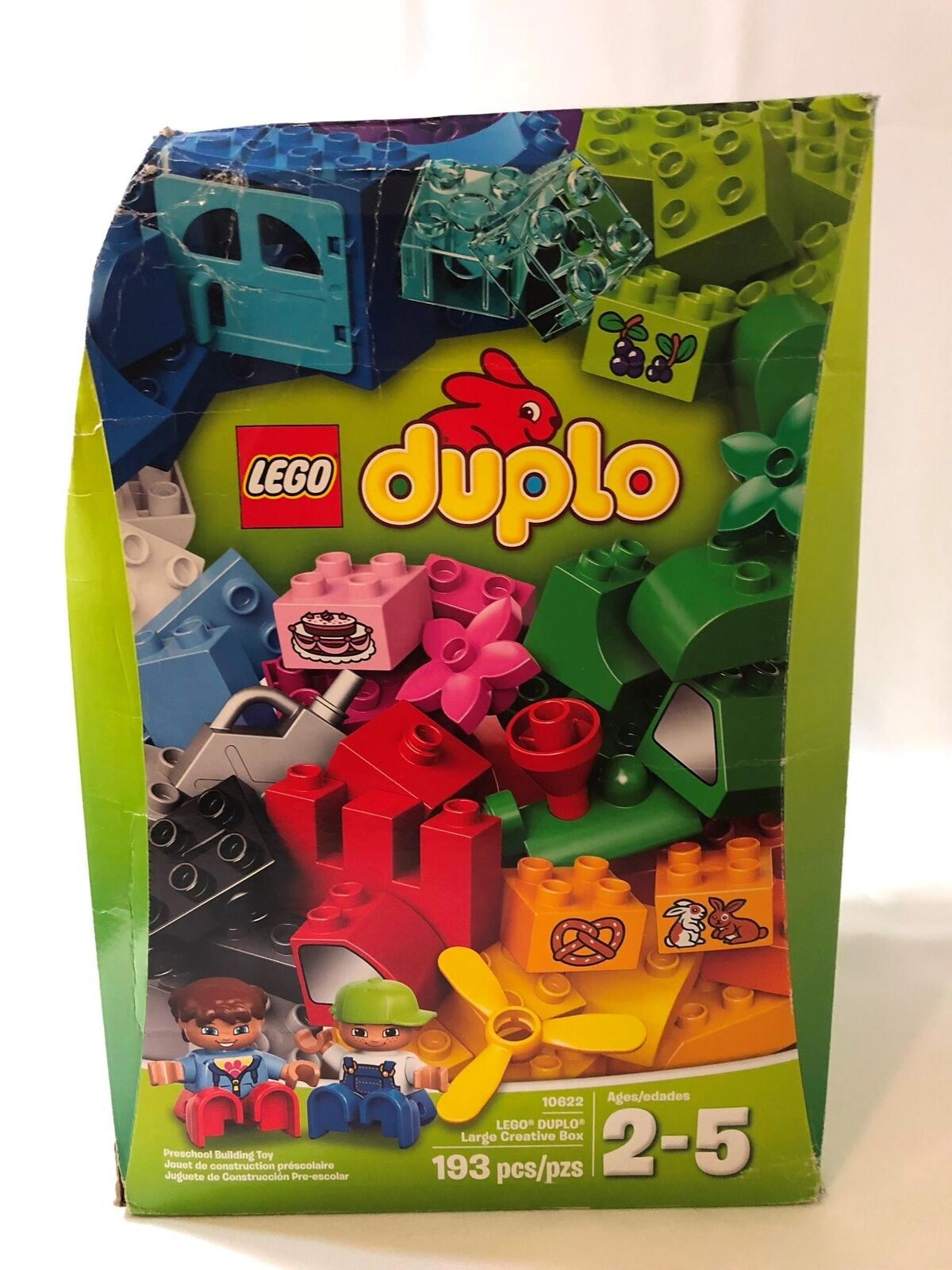 Lego Duplo 10622 Large Creative Box 193 Pieces NEW