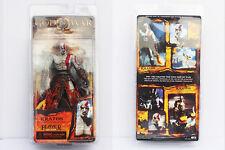 New RARE NECA God of War Kratos in Golden Fleece Armor with Medusa Head  Figure