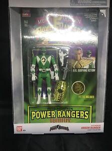 Bandai Green Ranger Mighty Power Rangers Collection Legacy Auto Figure de Morphin 45557402914