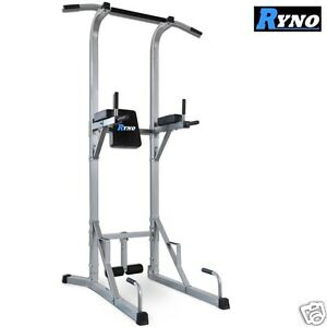 Ryno-Ultimate-VKR-Power-Tower-Tricep-Dip-Station-Pull-Push-Sit-Up-Crunch-Bar