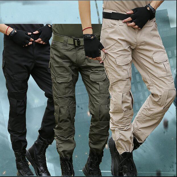 7440 Men Military Tactical Pants  Hiking Hunting Combat Trousers Knee Pads gifts  outlet