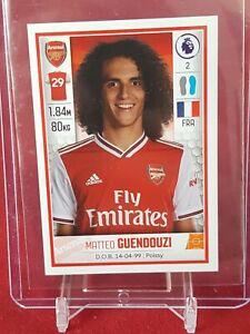 Matteo-guendouzi-Arsenal-Berlino-Premier-League-2020-PANINI-Rookie-Sticker