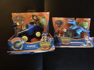Paw Patrol Dino Rescue Chase & Marshall Bundle