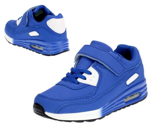 Jungen Sneaker Kinder Sportschuhe Laufschuhe Hallenschuhe Turnschuhe Schuhe Blau