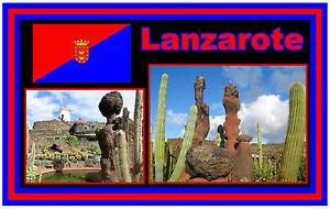 LANZAROTE-RECUERDO-ORIGINAL-Iman-de-NEVERA-NUEVO-Regalo