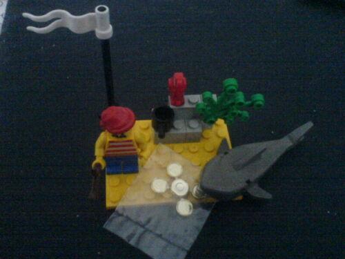 - Blauröcke Lego 1481 - Desert Island Sehr selten - Spanier - Piraten