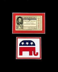 Image Is Loading Republican National Convention Ticket 1940