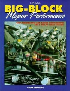 Big-Block-Mopar-Performance-Book-B-and-RB-Series-Engines-Keith-Black-Hemi-NEW