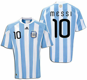 1e03cee40 Image is loading ADIDAS-LIONEL-MESSI-ARGENTINA-HOME-JERSEY-FIFA-WORLD-