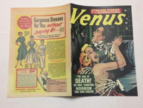 see details Venus #19 Photocopy REPLICA Comic Book