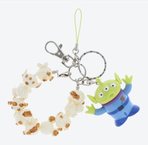 Pre-Order Tokyo Disney Resort Key Chain Alien Pop Corn Toy Story