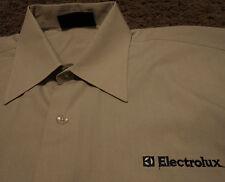 Mens ELECTROLUX Vacuum Parts Accessories Appliances Long Sleeve Shirt Medium