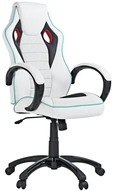 X Rocker Height Adjustable Office Gaming Chair White