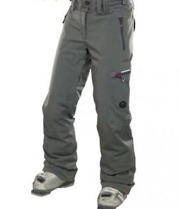 e65894bf3dd9c Details about ROSSIGNOL Womens Ski Trousers Pants Grey Ladies Size Large L  BNWT 20.000/20.000