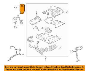 hummer gm oem 03 09 h2 rear air spring 15938306 ebayimage is loading hummer gm oem 03 09 h2 rear air