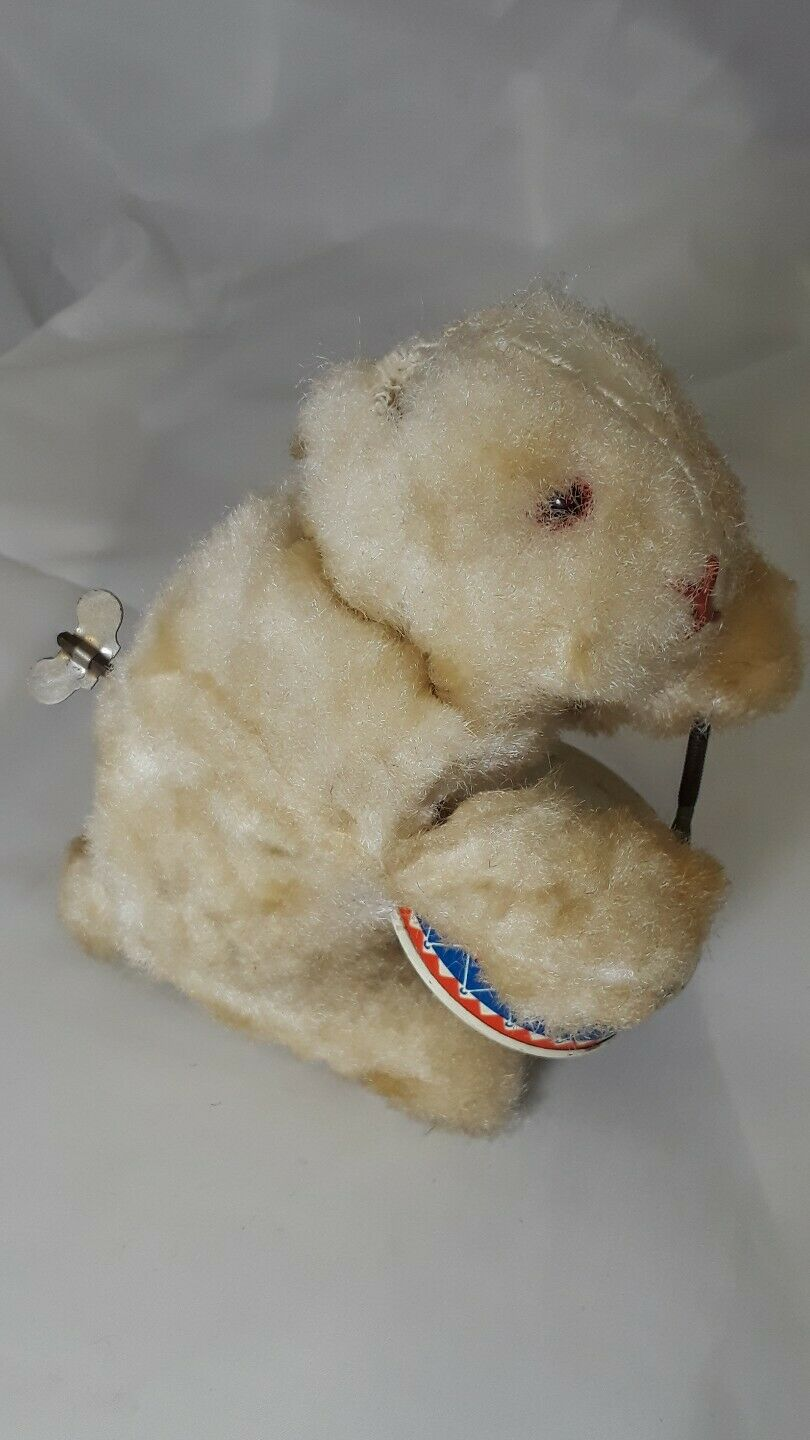 Wind up Rabbit Toy Made in Germany 1950's