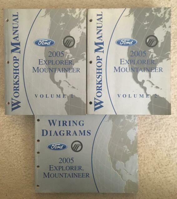 2005 Ford Explorer Mercury Mountaineer Workshop Manual
