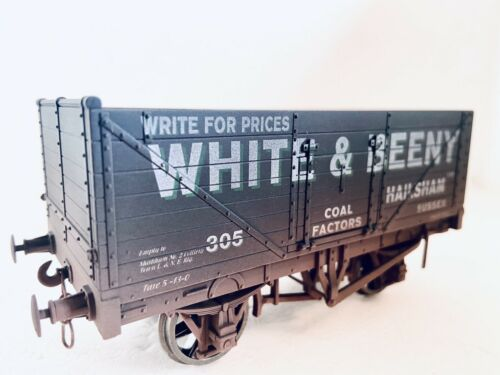 o gauge dapol White /& Beeny 7 Plank Wagon Weathered Produced By Simply Southern