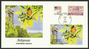 Nat 'L Audubon Society-Arkansas-Northern Oriole, Fleetwood Cualquier 5=