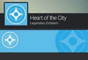 Destiny 2 Emblem Herz der Stadt Bungie PS4/Xbox One/PC