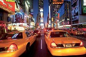1 Mur Géant New York Times Square Mural-afficher Le Titre D'origine Nouveau Design (En);