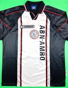 07b2251b1 Umbro AJAX AMSTERDAM 1998/99 XL Away Soccer Jersey Football Shirt ...