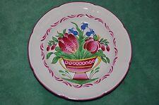 Assiette Décorative - Saint Clément n°67 - Faïence Lunéville - Decorative plate