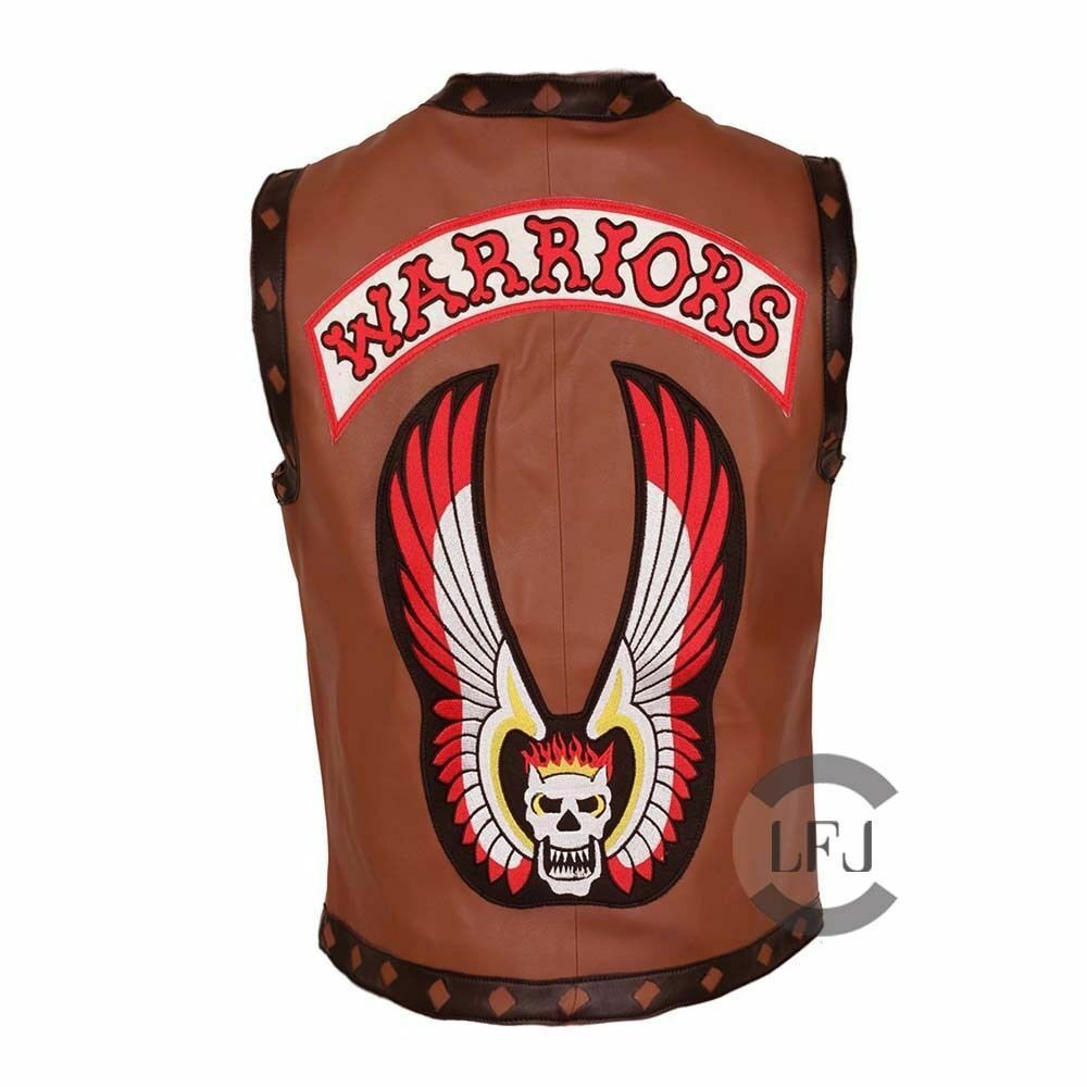 Ajax James Remar The Warriors Movie Leather Vest Costume