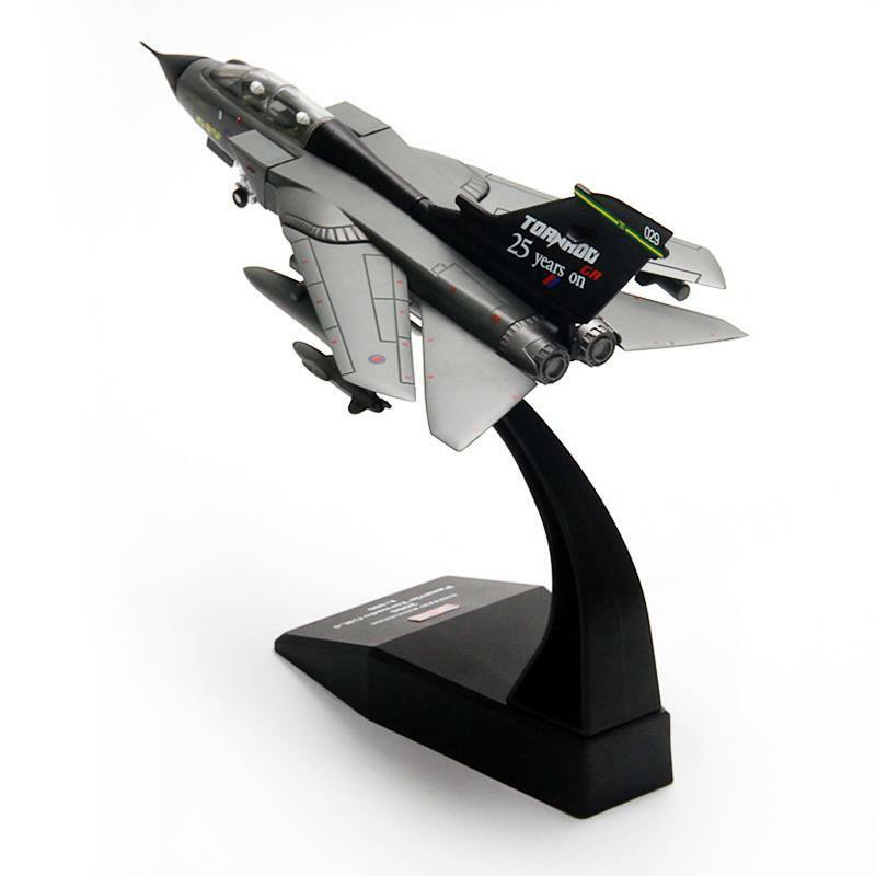 1 100 Metal Panavia Tornado Fighter Gift Static Airplane Model Aircraft Jet