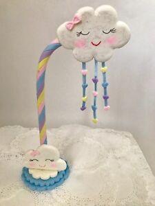 Mity rain Woodland Animal Cake Birthday Topper//One Cake Bunting Banner for Woodland Theme 1st Birthday Baby Shower Party Decoration