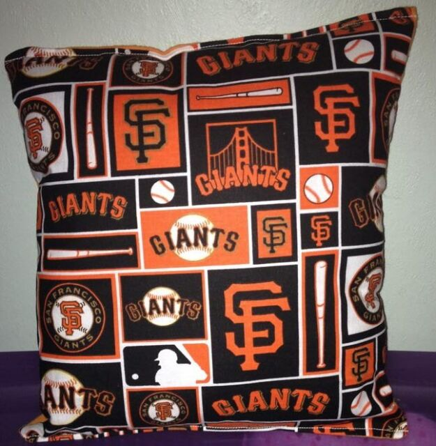 San Francisco Giants Pillow SF Giants MLB Pillow Handmade in USA Baseball