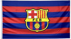 Fc Barcelona Flag Banner 3x5 Ft Spain Soccer Bicolor Bandera Us Free Shipping Ebay
