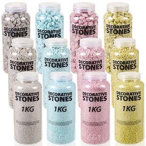 Decorative-Large-Medium-Stones-Sand-Arts-amp-Craft-Flower-Vase-Wedding-Centrepiece