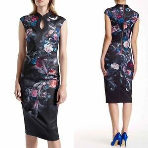 Ted-Baker-London-Marcela-Sheath-Midi-Ted-Size-2-US-Sz-4-6-Dress